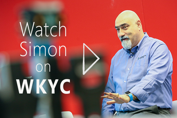 Watch Simon on WKYC